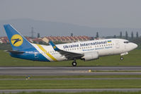 UR-GAK @ LOWW - Ukraine International 737-500 - by Andy Graf-VAP