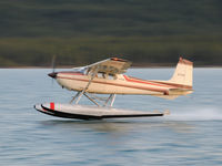 C-FJIU - C-FJIU, Marsh Lake, Yukon, Canada - by James Connor