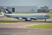 B-HOZ @ EHAM - Cathay Cargo taxiing in after arrival - by Robert Kearney