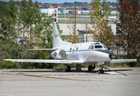 62-4475 @ KMKE - Formerly displayed on the base of the 440th Airlift Wing at KMKE, this aircraft now shares a backlot with other Sabreliners, two of them derelict, along with an abandoned Cessna 310. - by Daniel L. Berek