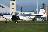 N823DJ @ KPAE - KPAE Some nice new titles and insignia on this airframe since the prior uploaded shot.