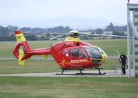 G-WMAS @ EGWC - Eurocopter EC135 T2 at Cosford airfield