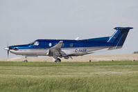 C-FASR @ CYYC - PC-12 - by Andy Graf-VAP