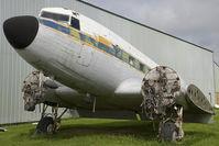 CF-VQV @ CYQF - DC-3 - by Andy Graf-VAP