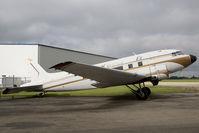 CF-YQG @ CYQF - Nunasi DC-3 - by Andy Graf-VAP