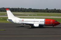 LN-KKT @ EDDL - Norwegian Air, Boeing 737-3L9, CN: 27336/2587 - by Air-Micha
