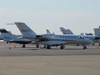N104PC @ KAPC - Locally-based Caymus Vineyards 2004 Cessna 525A on bizjet ramp in from KABQ (Albuquerque Intl Sunport, NM) - by Steve Nation