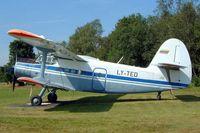 LY-TED @ EBLE - Antonov An-2T [1G235-51] Leopoldsburg~OO 16/08/2002