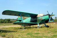 D-FBAW @ EBZW - Antonov An-2T [1G160-01] Zwartberg~OO 16/08/2002