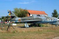 FU-197 @ EBKH - Republic F-84F Thunderstreak [Unknown] Balen-Keiheuvel~OO 16/08/2002 - by Ray Barber