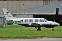 G-BPYR @ EGNX - 1977 Piper PIPER PA-31, c/n: 31-7812032 at East Midlands