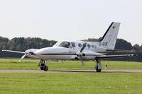 D-IFIK @ EDLE - Untitled, Cessna 421C Golden Eagle, CN: 1115 - by Air-Micha