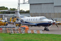 EC-JFO @ EGNX - 2004 Pilatus Aircraft Limited PC-12, c/n: 549 at East Midlands