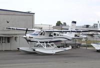 C-FDHC @ CYVR - DHC-2 MK. III - by Mark Pasqualino