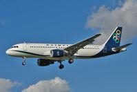 SX-OAU @ EGLL - Olympic A320 at Heathrow