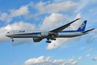 JA783A @ EGLL - All Nippon's 2008 Boeing 777-381ER, c/n: 27940 at Heathrow