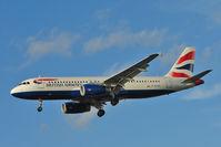 G-EUYG @ EGLL - British Airways 2010 Airbus A 320-232, c/n: 4238 at Heathrow