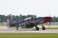 CF-IKE @ KOSH - North American P-51D - by Mark Pasqualino