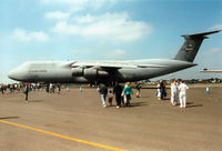 67-0171 @ EGVA - Another view of Reach 7171 Galaxy C-5A of McGuire AFB's 433rd Airlift Wing on display at the 1997 Intnl Air Tattoo at RAF Fairford. - by Peter Nicholson