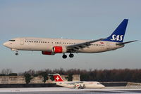 LN-RPM @ EGCC - SAS Scandinavian Airlines - by Chris Hall