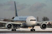 9V-SVD @ EGCC - Singapore Airlines - by Chris Hall