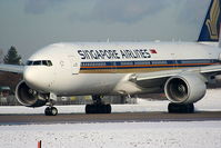 9V-SVD @ EGCC - Singapore Airlines - by Chris Hall