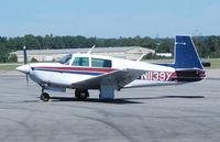 N1195Y @ KDAN - 1962 Cessna 150B in Danville Va. - by Richard T Davis