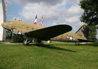 N1350M @ EDDF - Preserved at the Berlin Luftbrucken Denkmal, near the airport... - by Shunn311