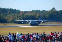 80-0325 @ KFFC - C-130 taking off - by Connor Shepard