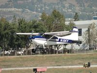 N10KY @ POC - We have lift off from runway 26L and headed westbound - by Helicopterfriend