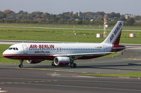 D-ABDA @ EDDL - Air Berlin, Airbus A320-214, CN: 2539 - by Air-Micha