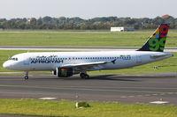 5A-ONK @ EDDL - Afriqiyah Airways, Airbus A320-214, CN: 4330 - by Air-Micha