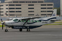 C6-RAS @ KBFI - Seen during a brief refueling stop at BFI, was this Cessna 208B of Alpha Regional Air. - by Joe G. Walker