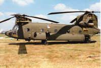 D-665 @ EGVA - CH-47D Chinook of 298 Squadron Royal Netherlands Air Force on display at the 1997 Intnl Air Tattoo at RAF Fairford - by Peter Nicholson