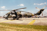 0839 @ EGVA - Hind helicopter gunship of 331 Squadron Czech Air Force on display at the 1997 Intnl Air Tattoo at RAF Fairford. - by Peter Nicholson