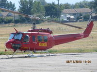 C-GFHA @ CYKA - ...Tasman Helicopters Bell 205A...between fire-fighting assignments - by Blindawg