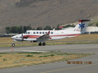 C-GJLK @ CYKA - ..Beech B-300 Medivac, departing on 26... - by Blindawg