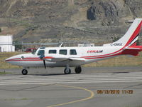 C-GMGZ @ CYKA - ...Conair Piper PA-60... aerial Bird Dog fire-fighting C&C aircraft... - by Blindawg