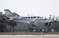 N825SP @ DAB - Cessna 441