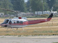 C-FNTR @ CYKA - ...1978 Bell 205A. - by Blindawg