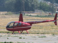 C-FTPG @ CYKA - ...R-44...never will like the looks of these...but they ARE economical.... - by Blindawg