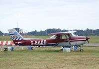 G-BABD @ EGSH - Reims Cessna FRA.150L at Norwich airport