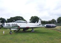 51-6718 - Lockheed T-33A at the City of Norwich Aviation Museum - by Ingo Warnecke