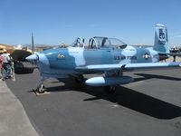N18255 @ CMA - Beech A45 as T34A MENTOR, Continental O-470-13 225 Hp - by Doug Robertson