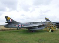 XG172 - Hawker Hunter F6A (painted and marked as XG168) at the City of Norwich Aviation Museum