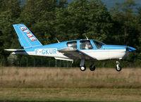 F-GKUR @ LFSB - Landing rwy 16... - by Shunn311