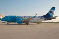 SU-GDG @ LHBP - Egypt Air Embraer 170