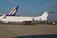 HA-LMF @ LHBP - ex Malev Fokker 70