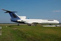 HA-LCE @ LHBP - ex Malev Tupolev 154