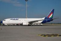 HA-LOU @ LHBP - Malev Boeing 737-800